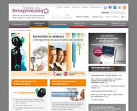 Fondation de l'Entrepreneurship (Screenshot)